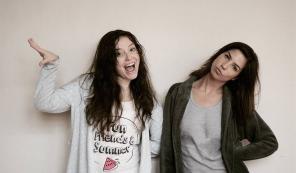 Duda Meneghetti e Catharina Conte, fantásticas como Nina e Antônia.
