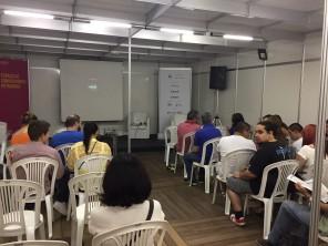 Espaço do Conhecimento Petrobras - na 63º Feira do Livro de Porto Alegre.