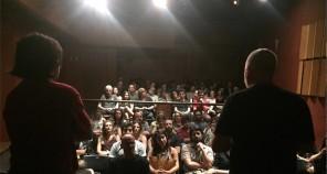 Felipe Iesbick (Diretor) e Rogério Rodrigues (Produtor Executivo) apresentando a série.