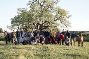 Foto da equipe - Final das gravações em Bagé/RS