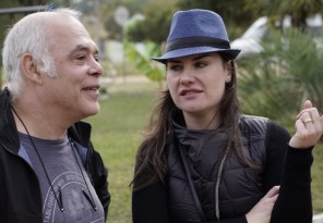 A produtora Ane Siderman, que divide a produção executiva junto com o diretor Rogério Rodrigues