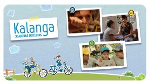 """""""Kalanga - Cidade das Bicicletas"""" (2015) criada por Rogério Rodrigues e Eduardo Cabeda, com direção de Rogério Rodrigues."""